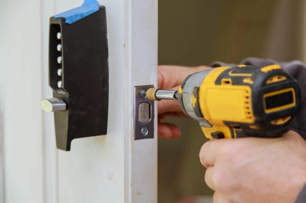 Installing a lock